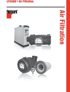 Fleetguard Technical Information Catalog: Air Filtration